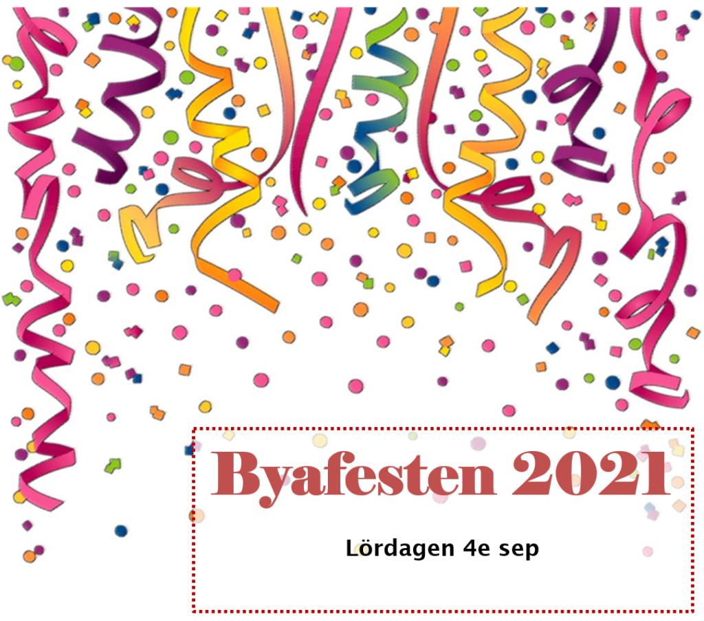 Välkomna till årsmöte och Byafesten 2021